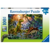 Ravensburger Puzzle Dinosaurier-Oase 100 Teile